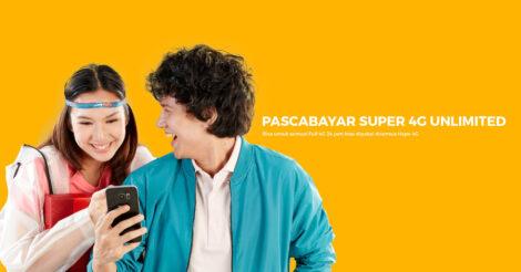 Paket Internet Pascabayar Unlimited 4G yang Benar-Benar Tanpa Batas